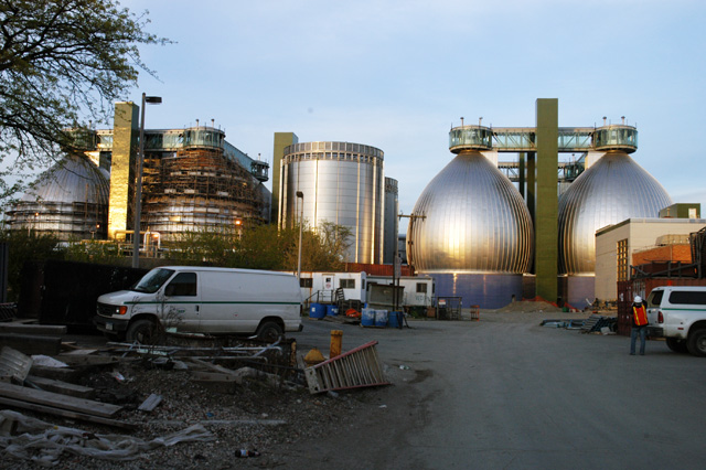 Newtown Creek Water Pollution Control Plant